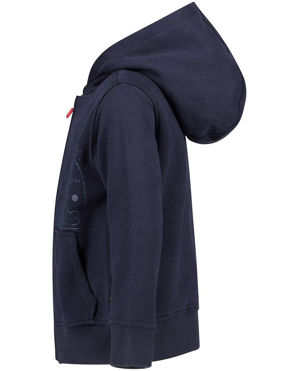 Cardigans - navy - Gilet molletonné bleu
